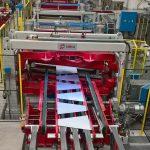 Гибридный агрегат поперечной резки трапеций 2050 х 3 м