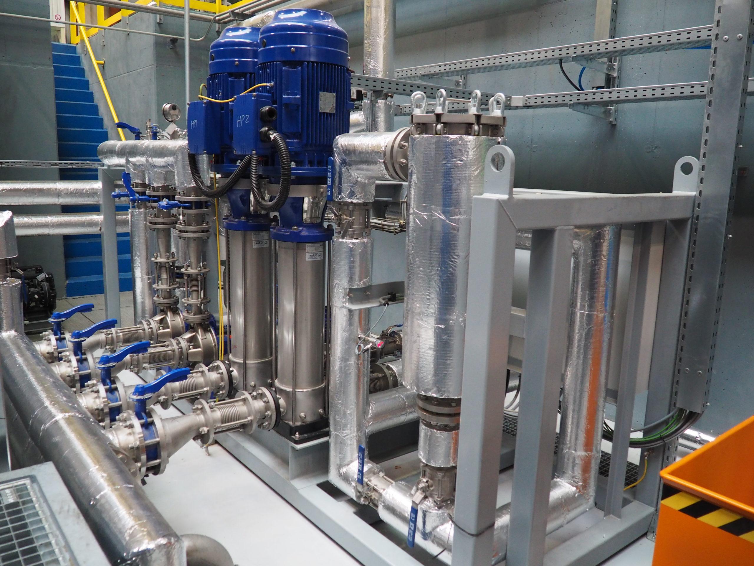 Sistema di pompaggio ad alta pressione