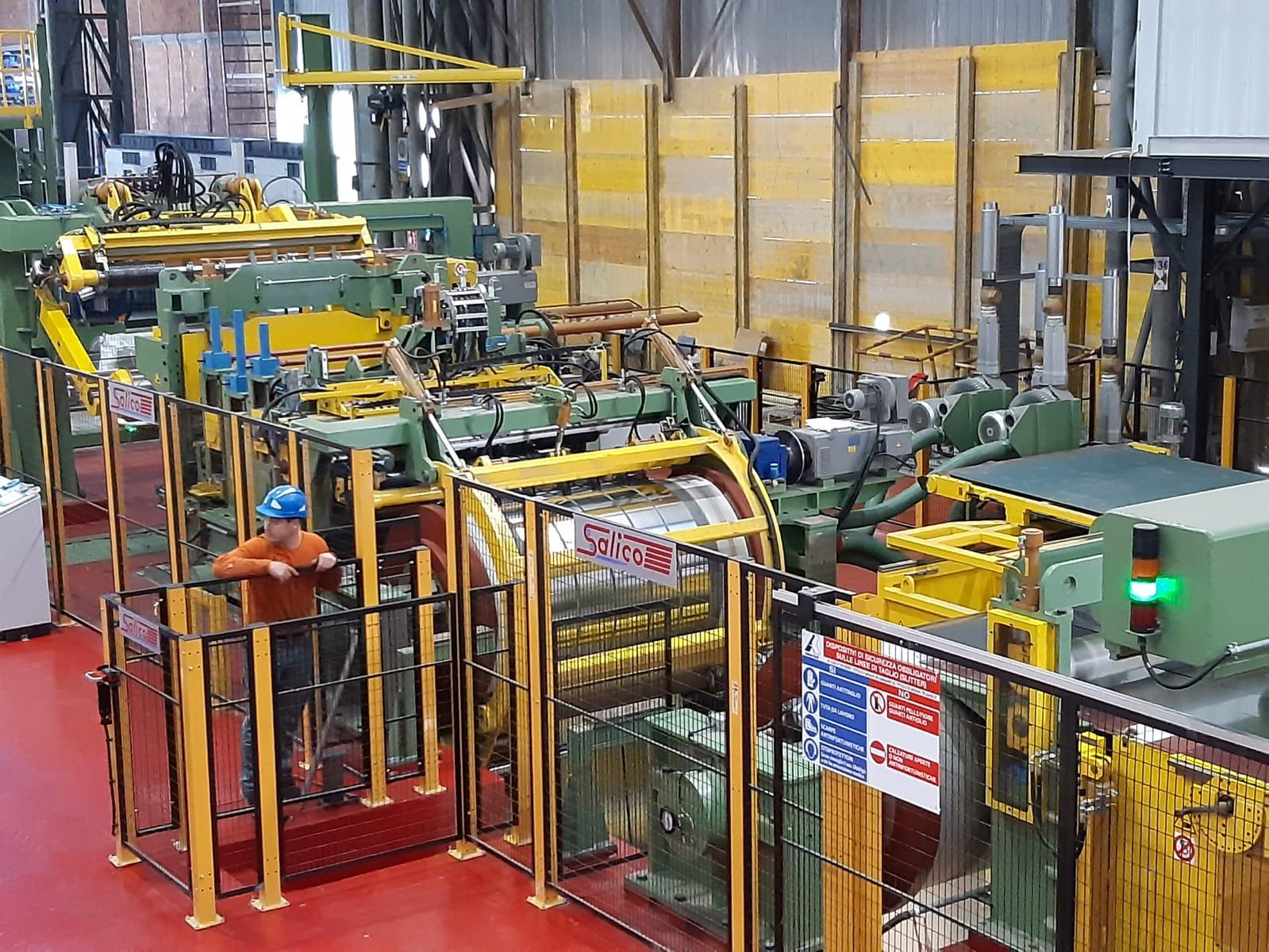 Нержавеющая сталь 1,575x0.08/0.5 мм