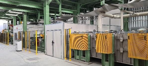 Lavaggio alcalino per alluminio